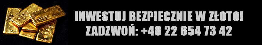 Bezpieczna inwestycja w złoto - Warszawa