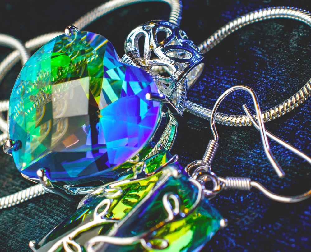 Biżuteria z aleksandrytem