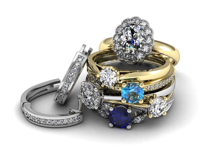 Nowoczesne wzory pierścionków