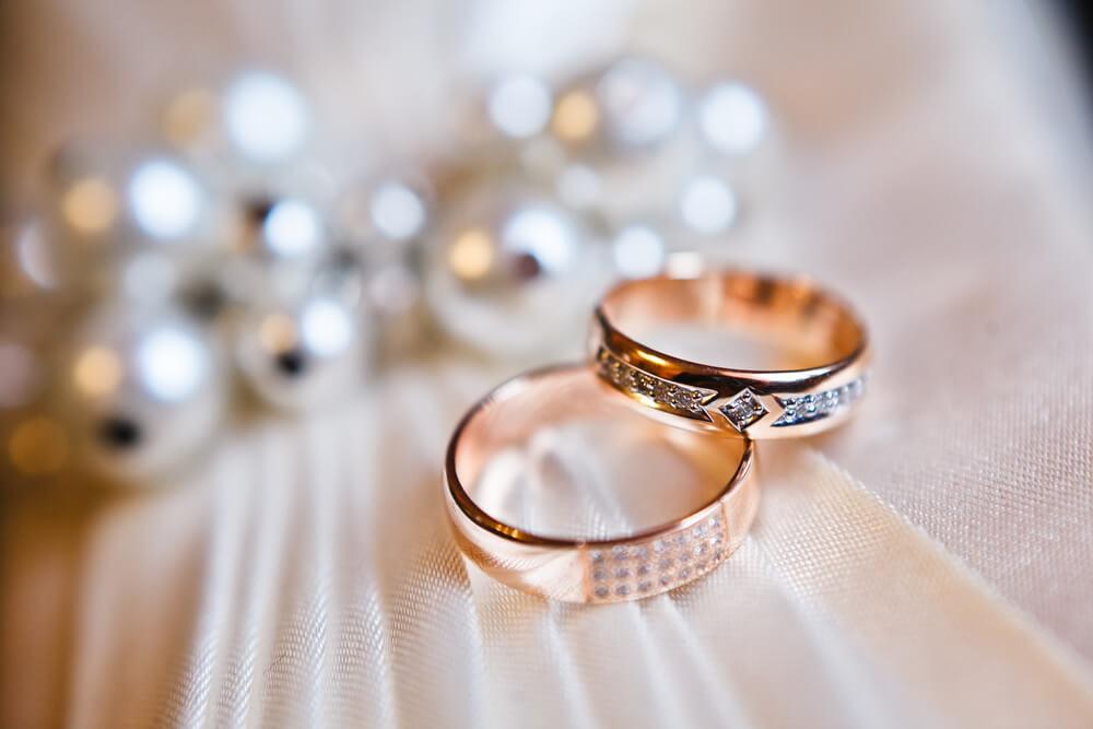 Prawidłowa waga obrączki ślubnej